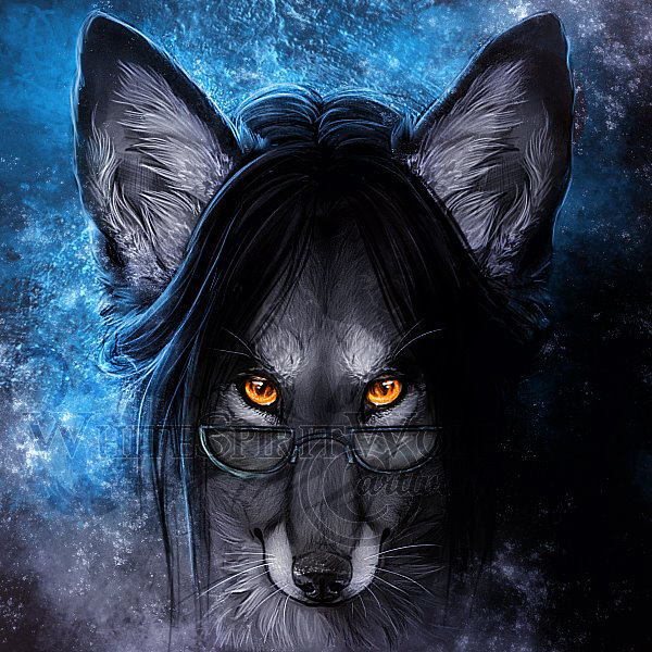 .: Blue Galaxy  :. by WhiteSpiritWolf
