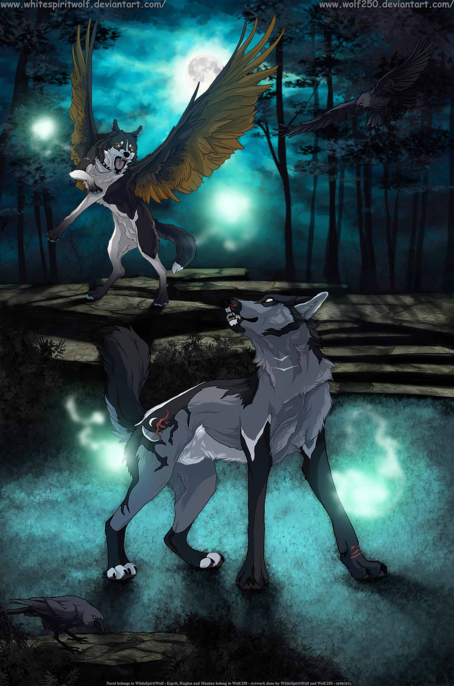 .: Nightmare Graveyard :. Collaboration by WhiteSpiritWolf