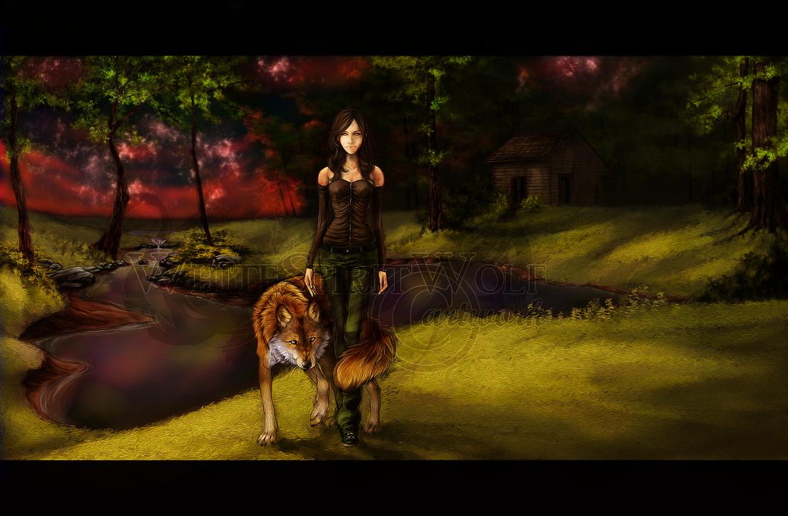 .: Forest :. by WhiteSpiritWolf