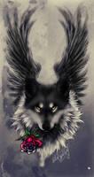 Seras .: Fallen Angel :. by WhiteSpiritWolf
