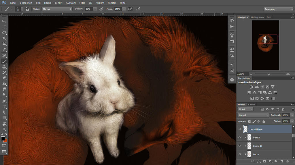 WIP .: Happy Easter :. by WhiteSpiritWolf