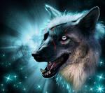 .: American Wolfdog - Blue Stars :.