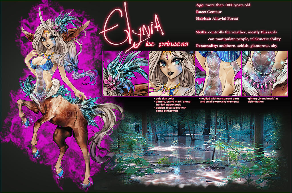 Elynia - Ref-Sheet by WhiteSpiritWolf