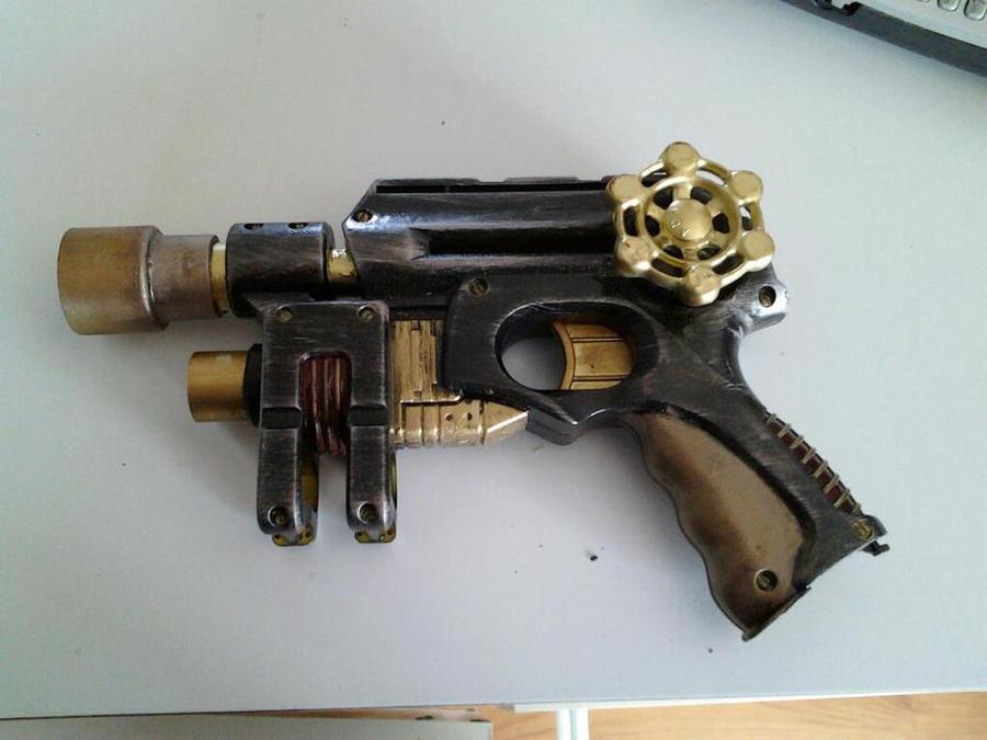 how to make ebony and ivory guns