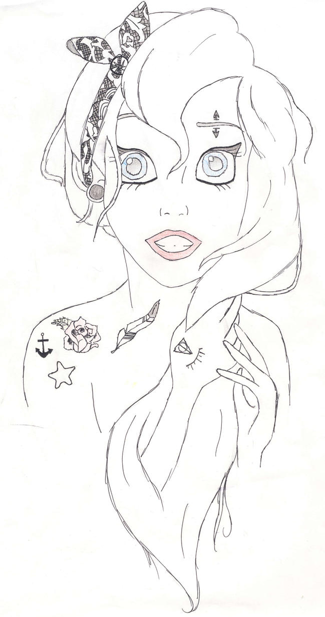 Ariel by marii343 on DeviantArt
