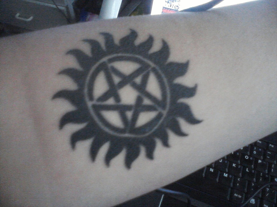 my Supernatural tattoo by DBlackwolf