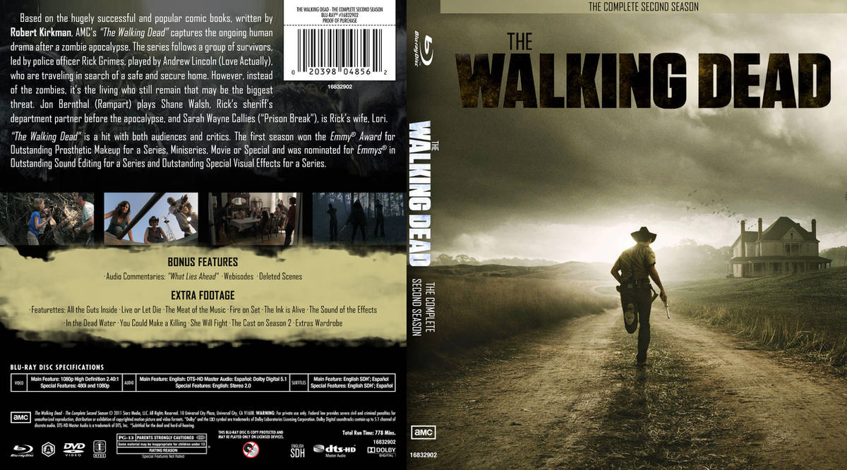 The Walking Dead The Complete Second Season By Yamato