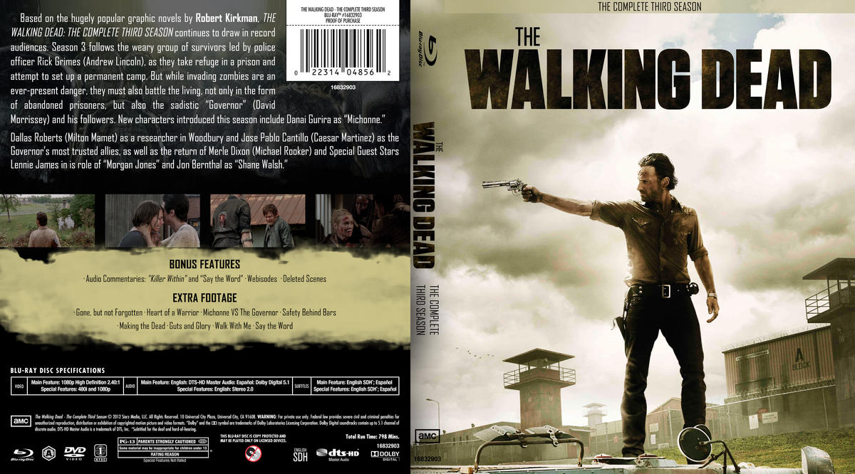 The Walking Dead - The Complete Third Season by yamato-senpai on ...