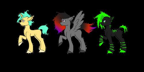Pony Adoptables Batch 1 [CLOSED]