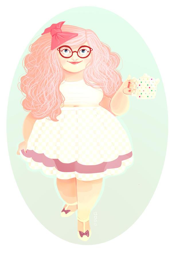 Cupcakes Love Me by Hyacinth-Zofia