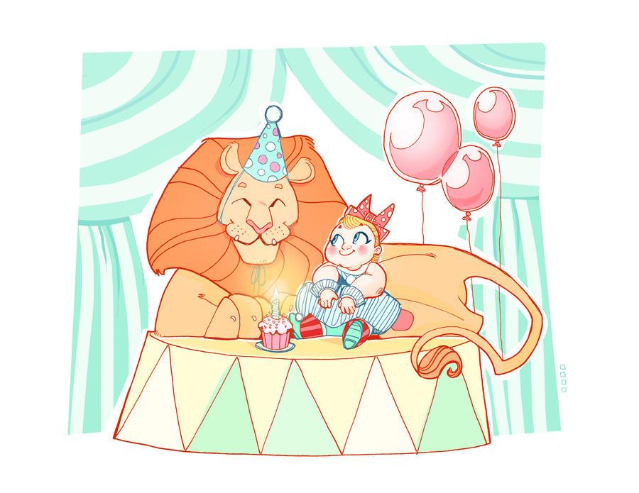 Commission: Lion's Share by Hyacinth-Zofia
