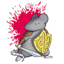 Rolo, the Roleplayer Rat Warrior