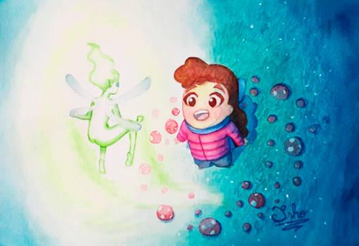 Iris and the fairy