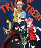 Kill la Kill Halloween by h0saki
