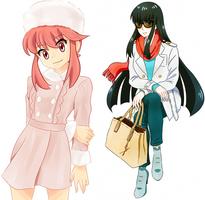 Kill la Fashion - Satsuki and Nonon by h0saki