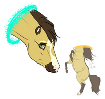 Colouring Mashup - Portal Pony