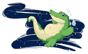 Sky Gators in Flight