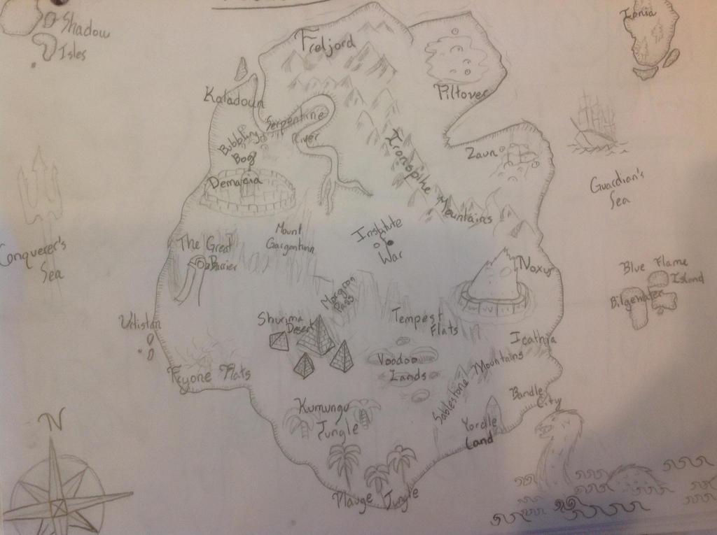 Runeterra Map by Viola-Player on DeviantArt on