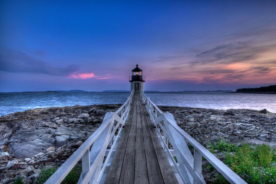 Marshall Point Light by sharktankfan