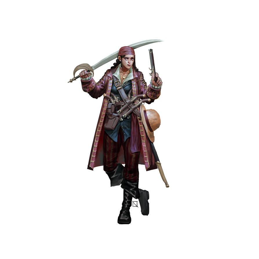Pirate Lady by bukandewa
