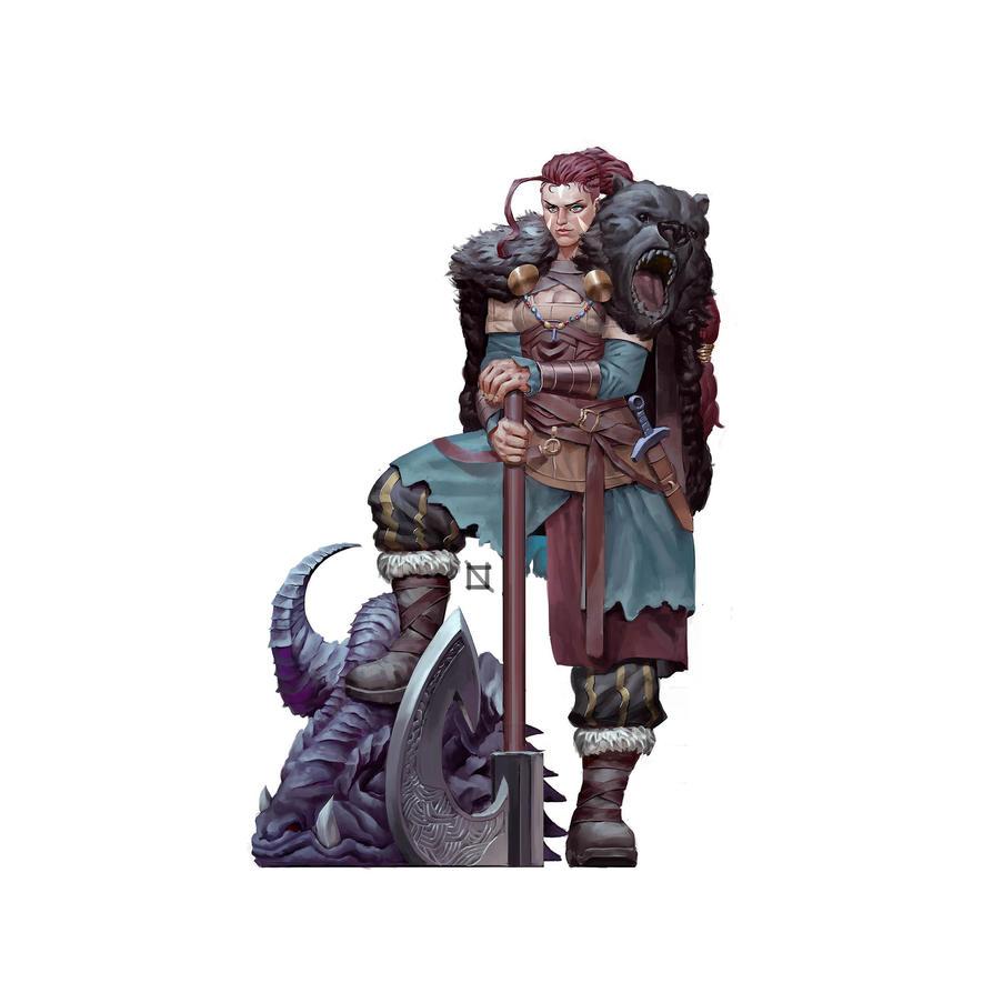 Viking Berserkerfinal Fixmin by bukandewa