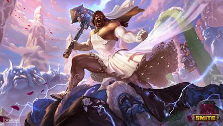 SMITE - Valkyrie Bride Thor