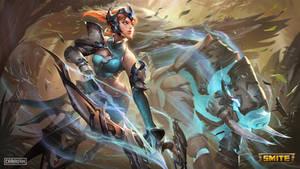 SMITE - Valiant Huntress Artemis