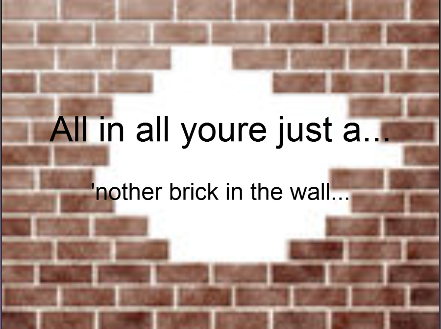 how to play another brick in the wall