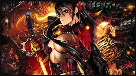 Dragon Samurai Signature by 10mgBT1012cada5min
