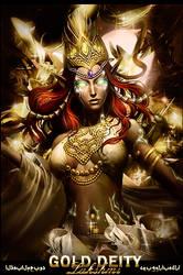 Lakshmi Gold Deity Signature by 10mgBT1012cada5min