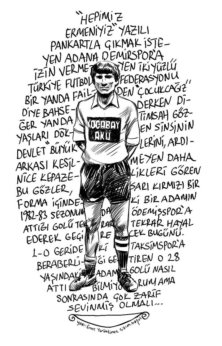 Hrant Dink by muratbasol