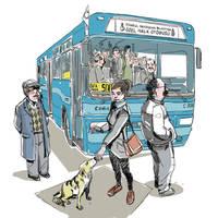 Otobus-bekle by muratbasol