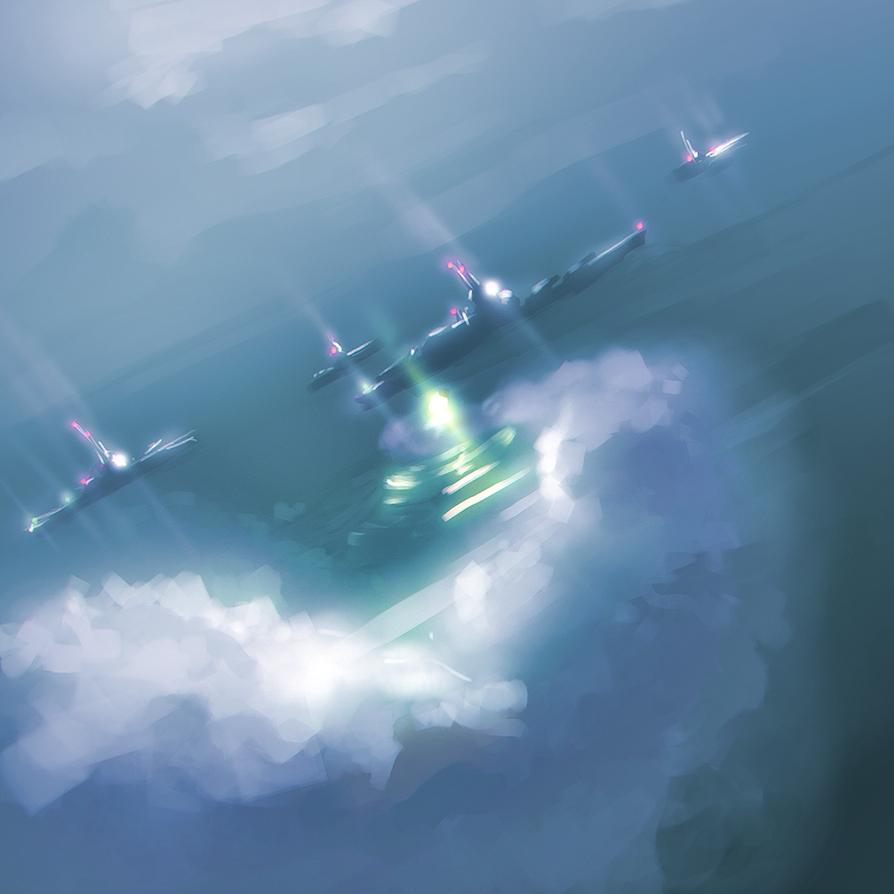 Speedpaint-  Missile Alert by x717x