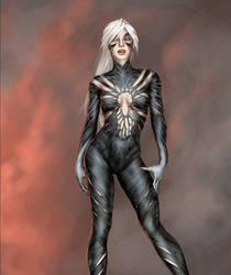 Symbiote Black Cat