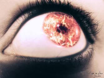 Death eye in fire by yiny-chan