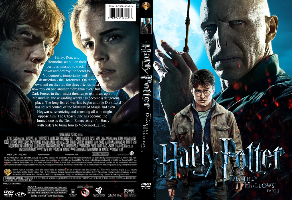 Harry Potter DVD Case Design by iWiLl-Be-JuStMe on DeviantArt