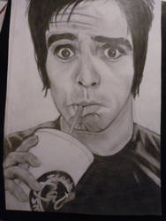 brendon urie pencil by Dottycookie
