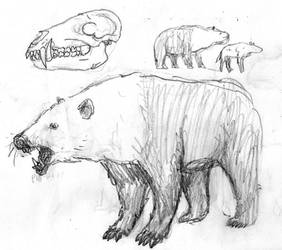 False-bear sketch by povorot