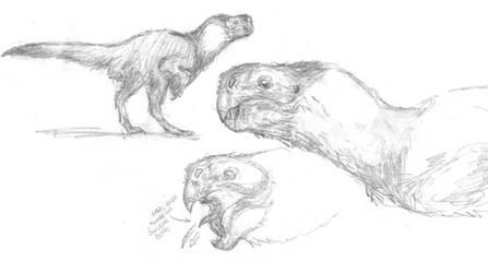 Oviraptor - Hyena Analogue 2 by povorot