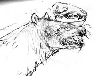 false bear by povorot