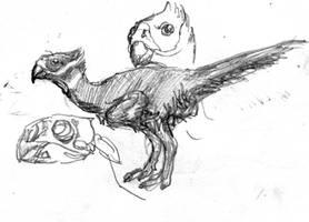 Tropical Oviraptor by povorot