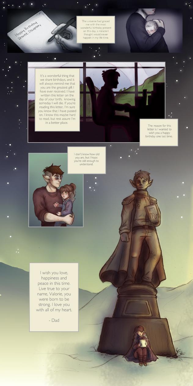 Revelation of Ula'ran: Valentine's Comic by Kiotoko-Solo