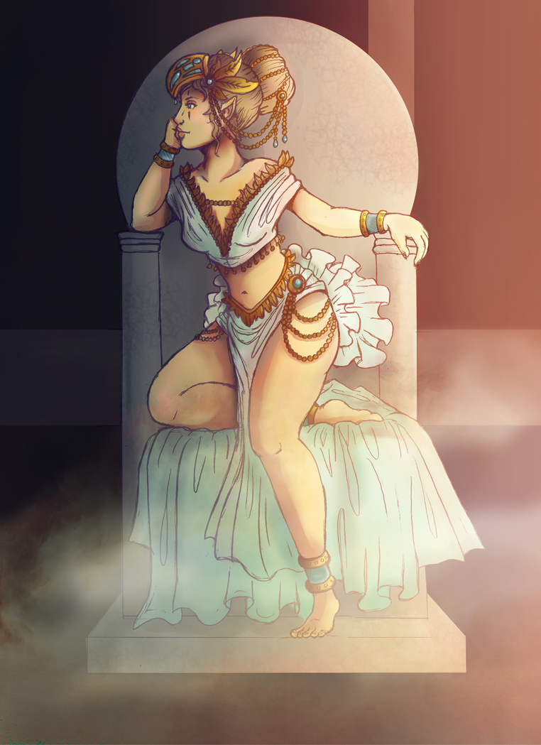 Revelation of Ula'ran: The Proposed Queen by Kiotoko-Solo