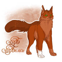 Squirrelflight by Fox-Desert