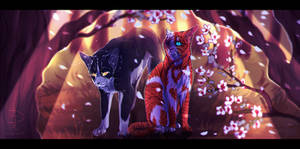 Swiftpaw and Brightheart [WARRIORS]
