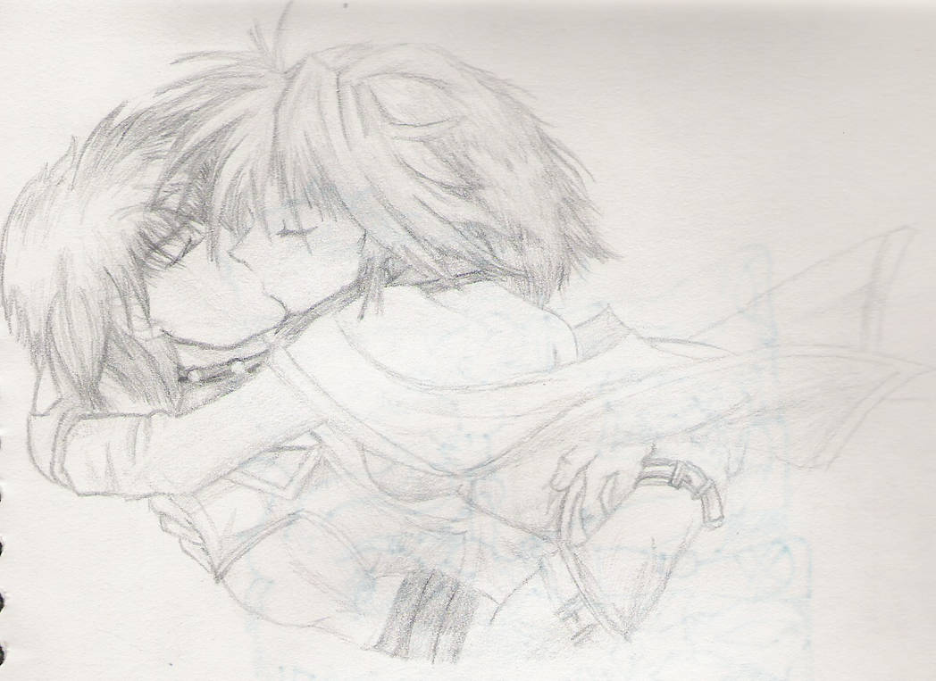 Anime couple by saru mazeru