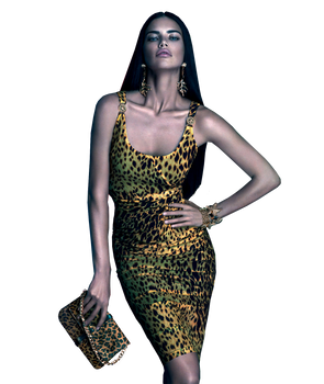 Adriana Lima Versace PNG