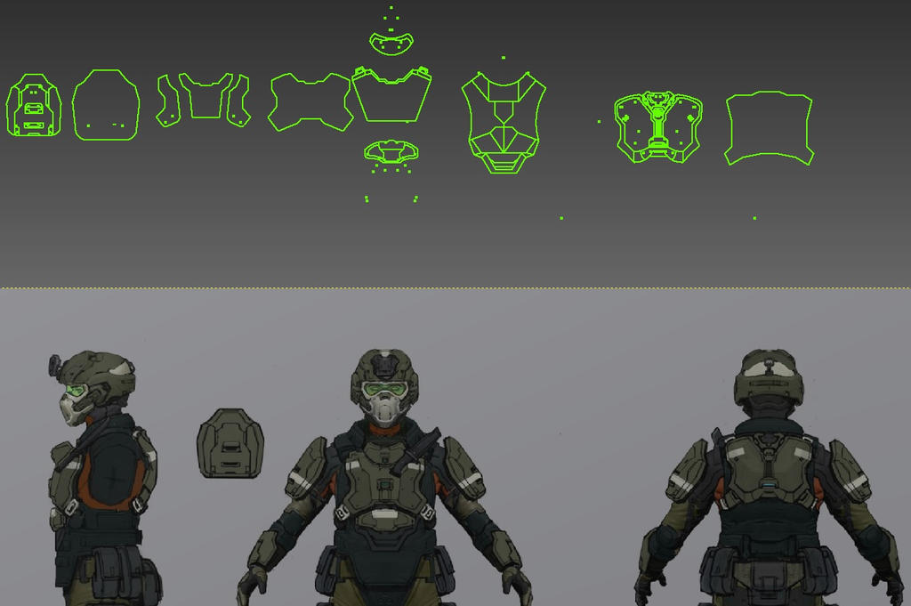 Unsc Marines Halo 4 Halo 4 Unsc Mar