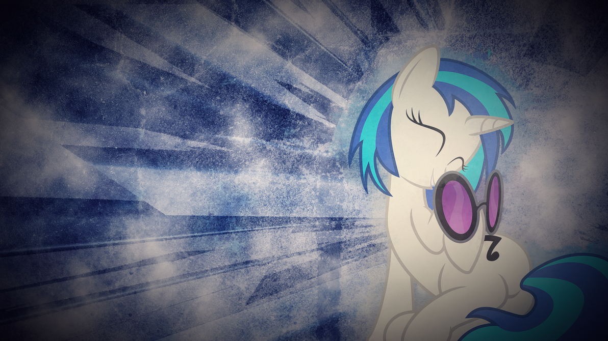 Vinyl scratch Wallpaper by axe802
