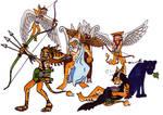 Greek/Roman Lombax Gods